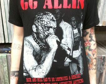 GG Allin T-shirt