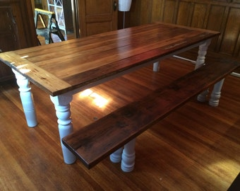 8 foot long farm table
