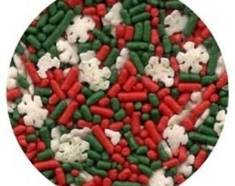 Christmas Noel Blend Sprinkles - 8 oz