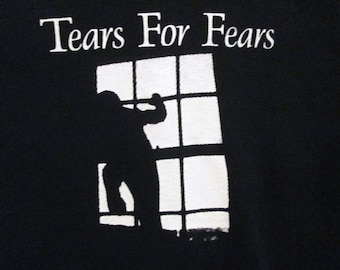 Tears For Fears T-Shirt ~~FREE SHIPPING~~The Hurting Shout New-wave 80's Pop