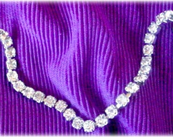 Crystal Rhinestone Sweater Guard