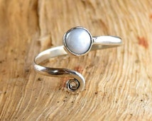Silver Toe Ring, Adjusable Toe Ring, Pearl Toe Ring, Foot Accessories, Foot Ring, Stone Toe Ring, Band Toe , Foot Jewelry