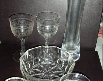 Collection of assorted glass from 60s, 70s and 80s