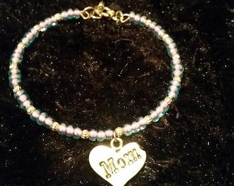 Light Purple Mom Bracelet