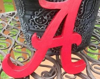 Alabama Crimson Tide Letter