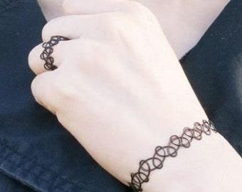 Tattoo choker bracelet/and ring ---> READ ITEM DETAILS <---