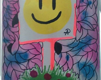 Smile Sign Painting
