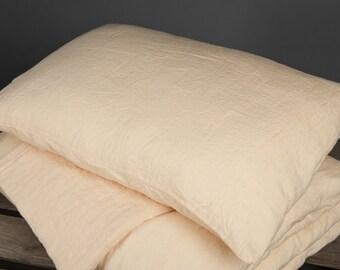 Eco Linen Pillow case, Linen Bedding, Linen Pillow case, Organic Linen Pillow case
