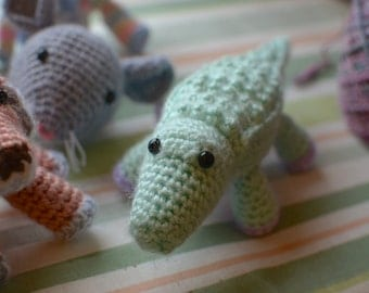 Crocodile -- Stuffed Crochet Toy