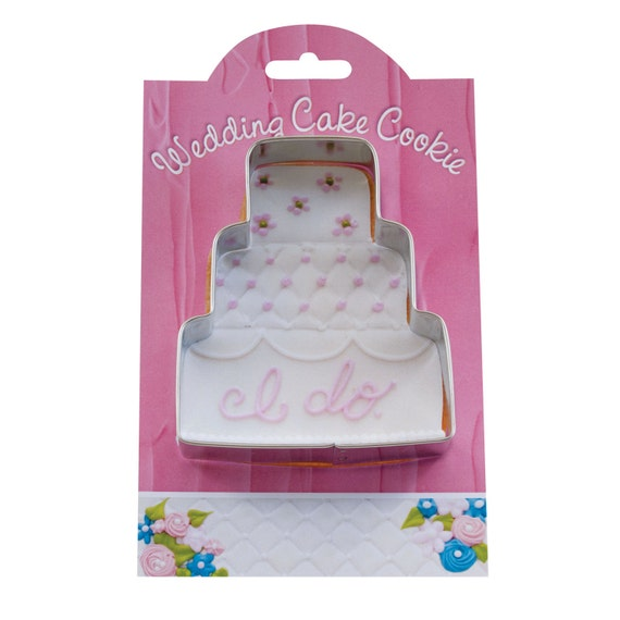 Ann Clark Wedding Cake Cookie Cutter With Recipe Card Made