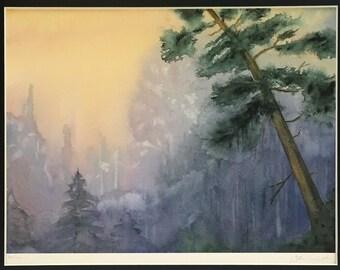 Woodland Dawn Giclee