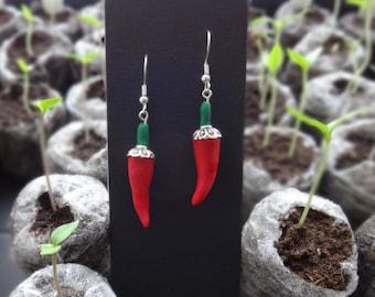 Chilli Pepper Earrings