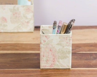 Pen Pot - Antique Pink