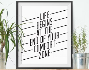 Motivational Quote Typography poster Inspirational Printable Art Art Positive vibes Home Decor Office Art