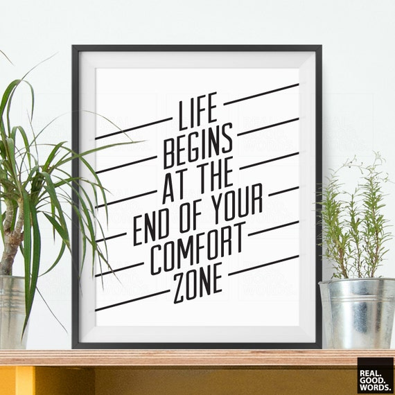 Items Similar To Motivational Quote Typography Poster