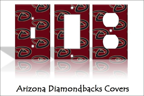 Arizona Diamondbacks Mlb Light Switch Covers By