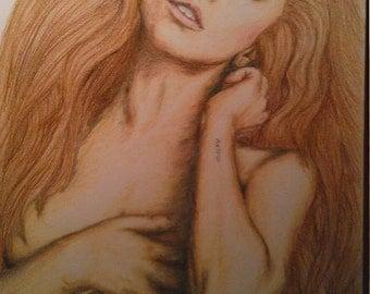Lady gaga drawing,  limited edition print