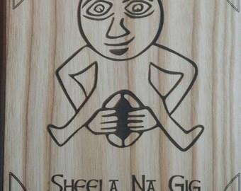 Sheela na Gig prehistoric Gift of Womans Power