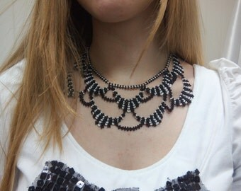 """Necklace """"Night and day"""""""