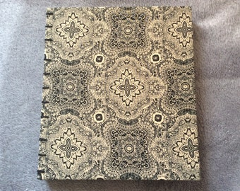 Large Bohemian Photo Album | Coptic Stitch | Sketchbook | Journal | Notebook