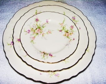 32 Pieces Homer Laughlin Plate Serving Set For 8