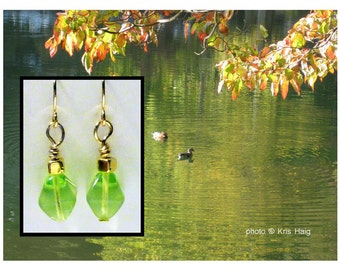 Peridots earrings