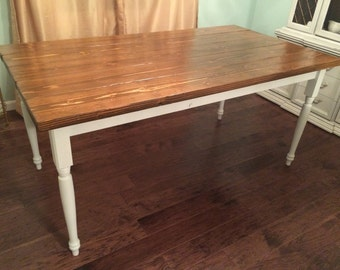 Items Similar To Custom Built Farmtable Potterybarn