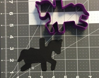 Carousel Horse 101 Cookie Cutter