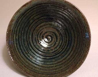R.C.Artworks - Black Spiral Bowl