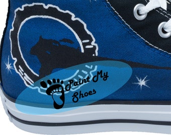 Stargate Atlantis, SG1, Galaxy, converse, hand painted shoes, tv shoes, free shipping in the US