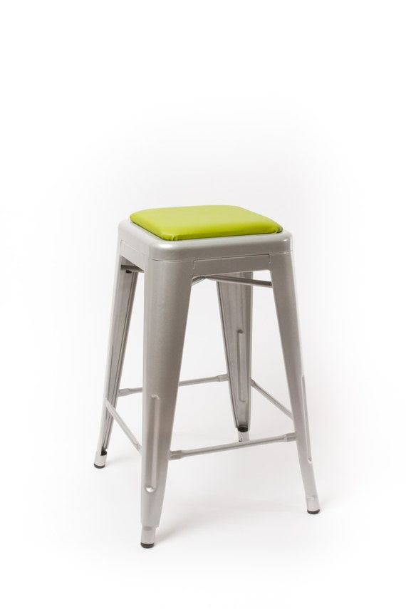 square stool cushion for metal stools tolix tabouret osp bristol carlisle viktor - Bar Stool Cushions
