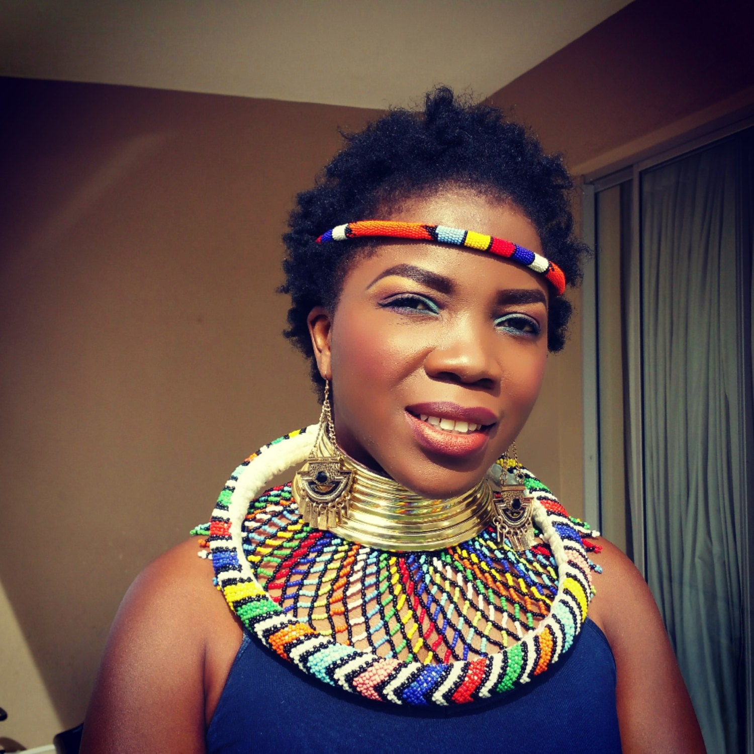 ndebele inspired accessories tradition south african