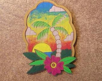 Hawaiian Sunset Brooch