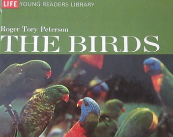 FREE Shipping 1970 LIFE book The Birds Life Young Readers Book About Birds