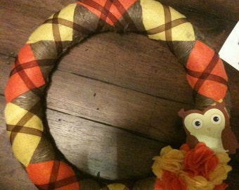 Argyle wreath