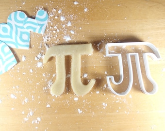 pi greek letter 3d printed cookie cutter