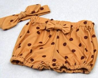 Baby Girl Bubble Shorts Set