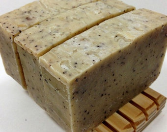 Chef's Soap Kitchen Soap Artisanal Handmade Soap All Natural Olive Oil Soap Made With Coffee Beeswax