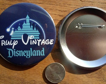 Three Inch Truly Vintage Button