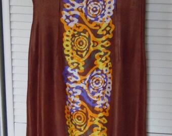 Vintage Silk Sheath Dress