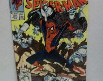 1989 The Amazing Spider-man No.322 The Assassin Nation Plot Pt 3 of 6 Todd McFarlane Cover  G-VG  Vintage Marvel Comic Book