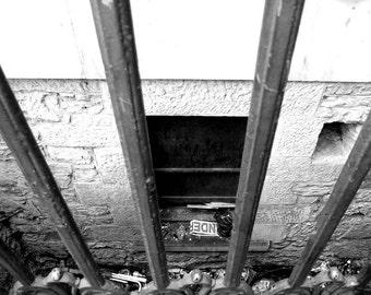 Under (Black & White version) - photo print by Tilley