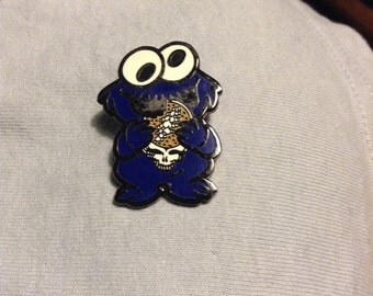 Very Cool Greatful Dead Cookie Monster Pin
