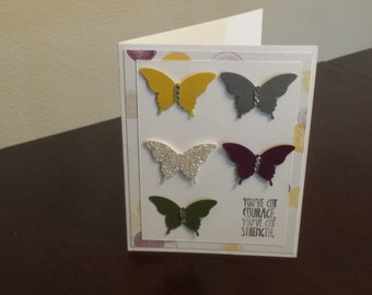 Thank you cards, Appreciation cards, Thanks a lot, Thank you notes, Custom Thank you cards, Butterfly Bliss of Thanks