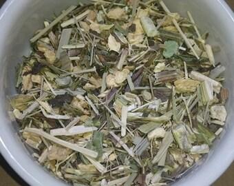 Minty Immune Boost: Organic Herbal Tea Blend