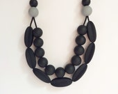 Mia: Double stranded teething necklace