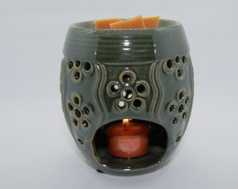 Green Tea-light Wax Melter