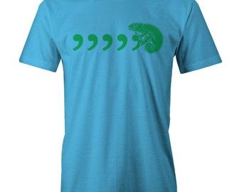 Coma Coma Chameleon T-shirt Funny 80s Culture Club Karma Cha