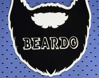 Beardo - Beard Lover Bumper Sticker