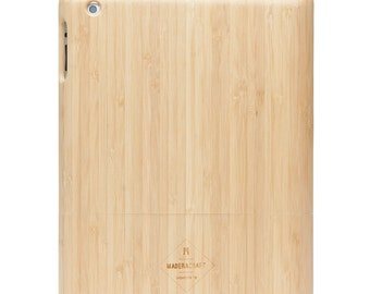 Bamboo Wood iPad 2/3/4 Case